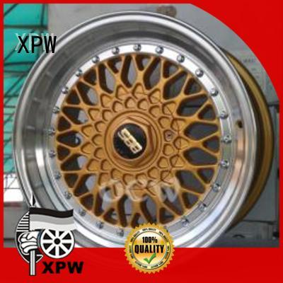 XPW black 15 inch wide rims design for cars