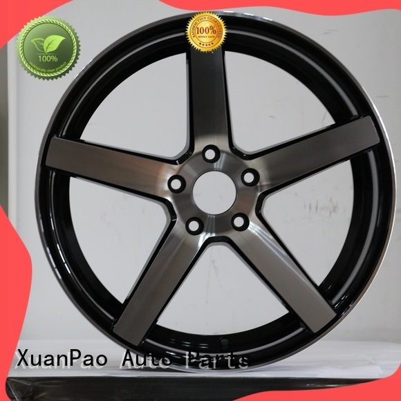 XPW high quality 16 inch black alloys wholesale for vehicle