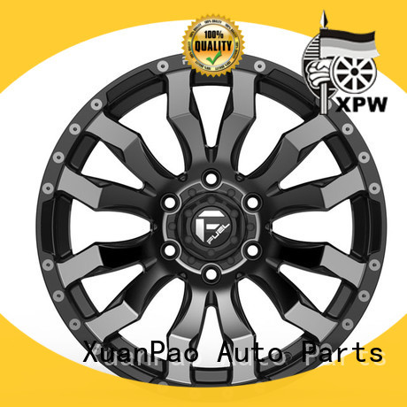 XPW professional 17 black alloys manufacturing for Toyota