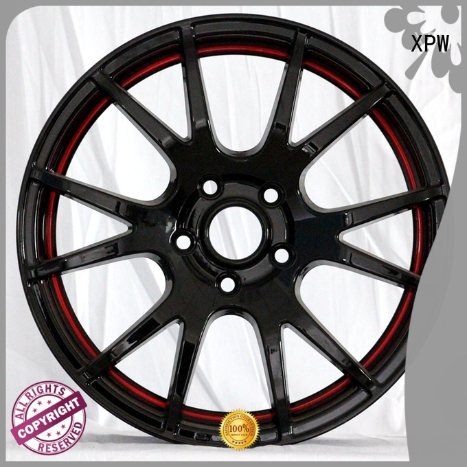 XPW professional 15 inch alloy rims manufacturing for Honda series