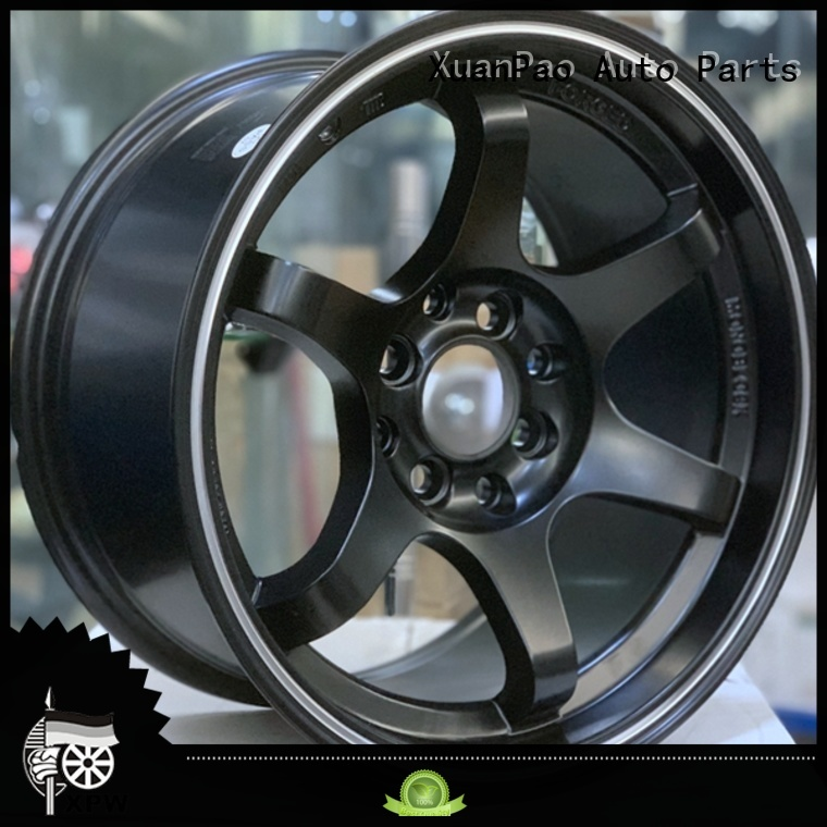 XPW white 15 inch black wheels customized for Honda series