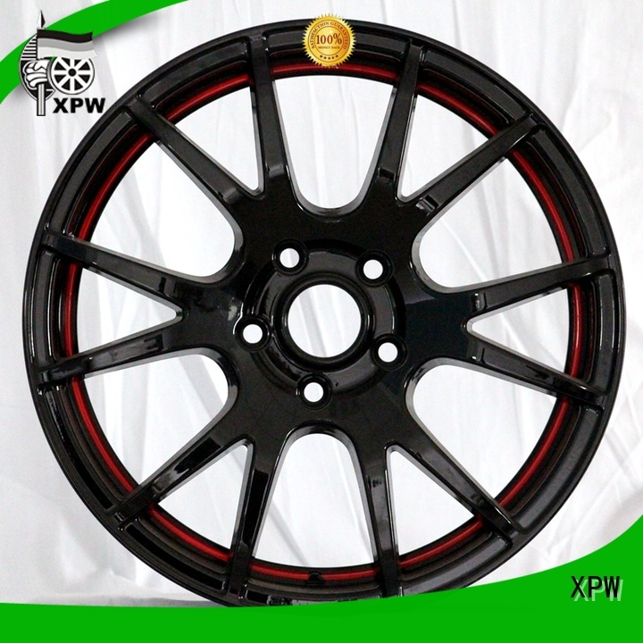 XPW aluminum 15 steel wheels customized for cars