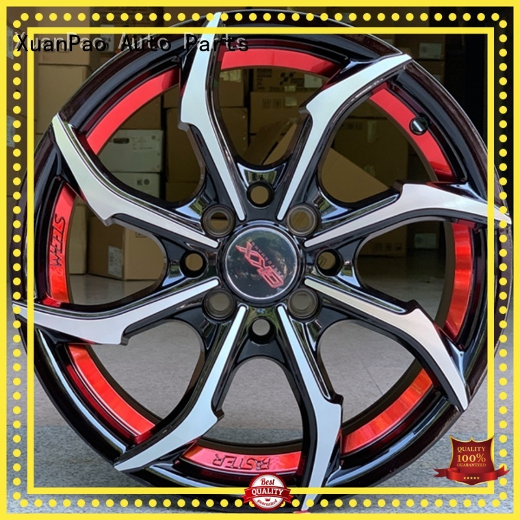 XPW high quality 15 inch steel wheels design for vehicle