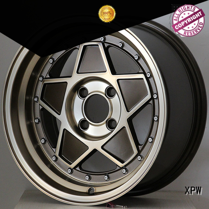 cost-efficient 15 chrome wheels black manufacturing for Honda series