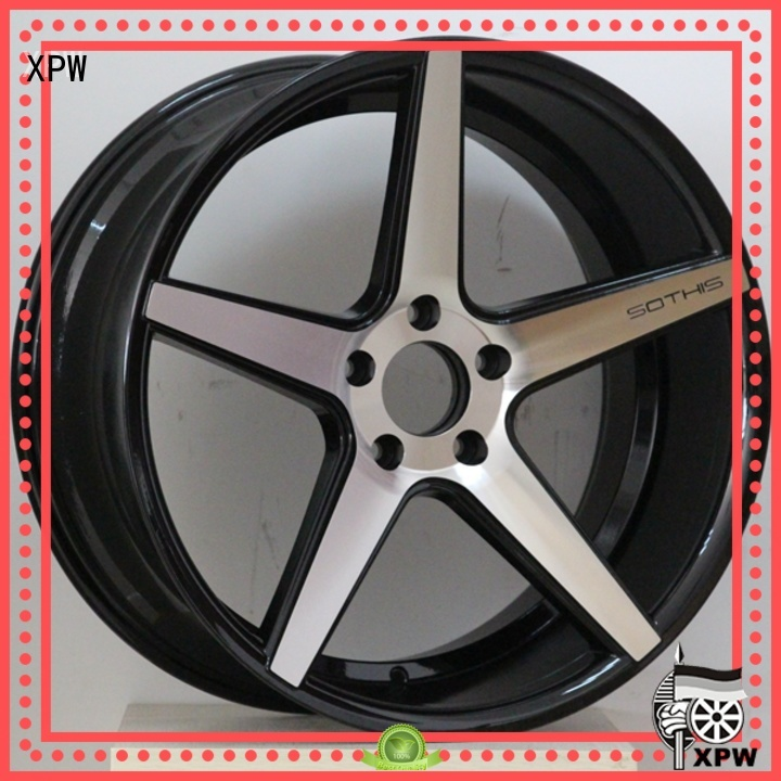 factory supply 20inch wheels manufacturing for vehicle