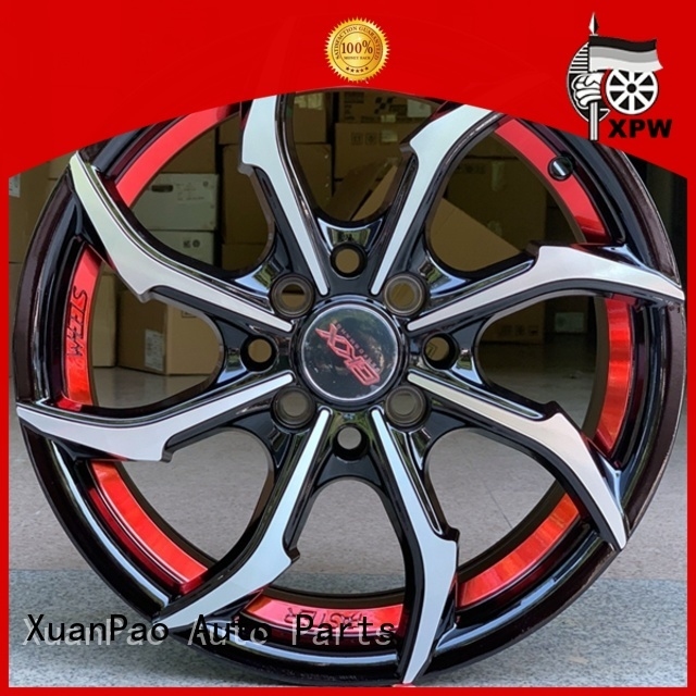XPW novel design with beautiful shape 15 inch jeep rims wholesale for vehicle