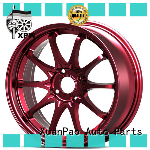 cost-efficient 15 inch car rims novel design with beautiful shape manufacturing for vehicle