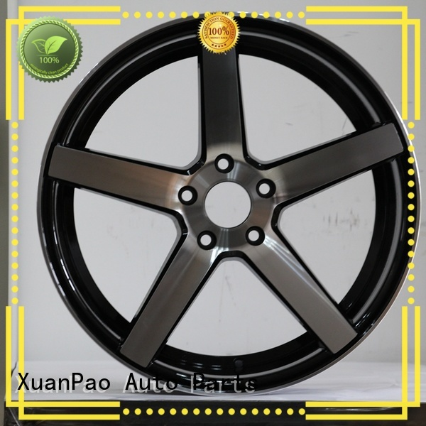 XPW white 15 inch trailer rims manufacturing for Toyota