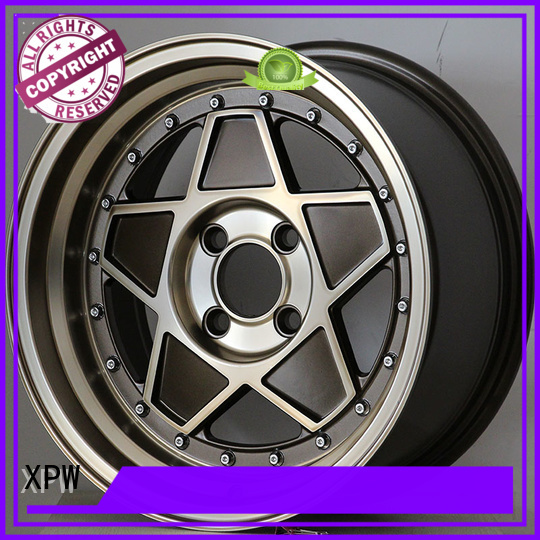 XPW professional 15 inch chrome wheels customized for vehicle