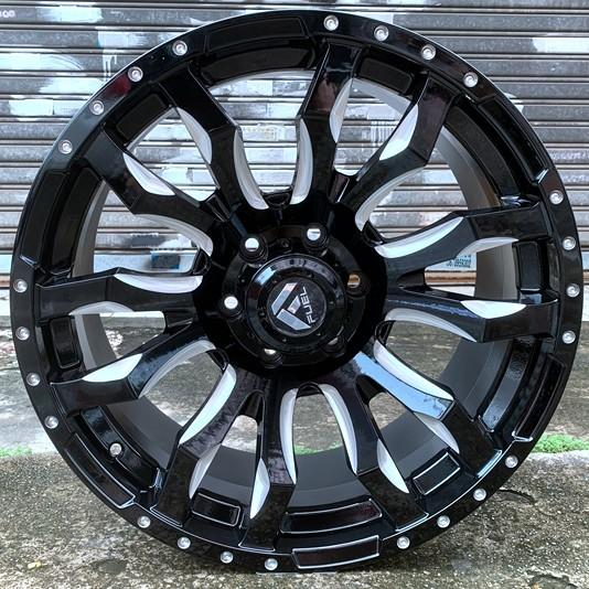 XPW 20 inch black and chrome rims supplier for vehicle-1