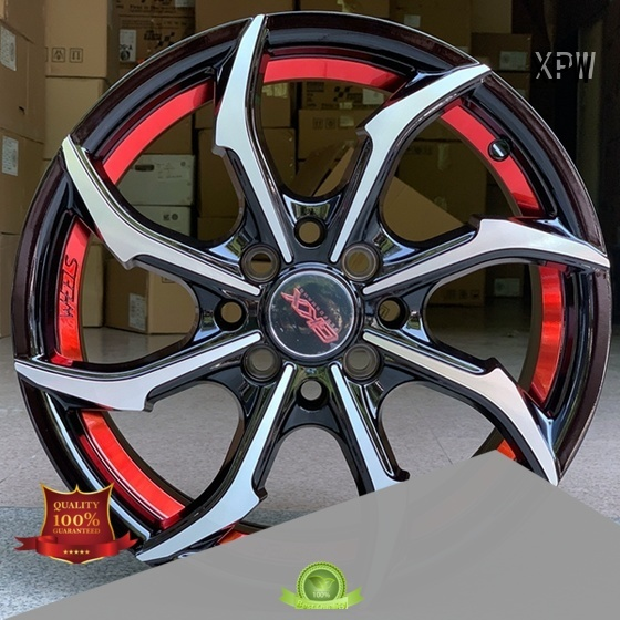 XPW novel design with beautiful shape 15 inch alloy wheels design for Honda series