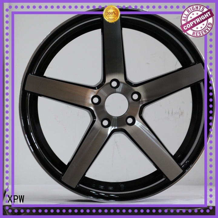 XPW matte black 17 inch truck wheels series for cars