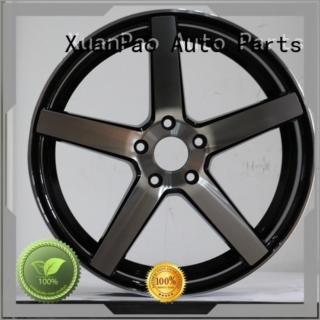 long lasting 15 inch rims black design for vehicle