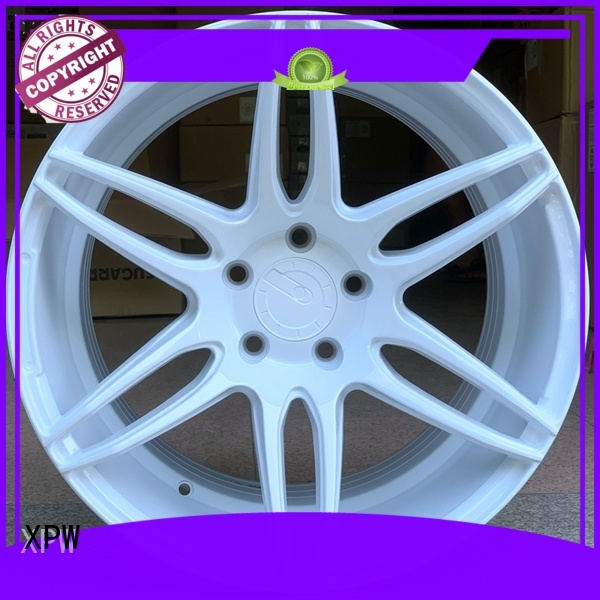 XPW wide sides 18x8 steel wheels customized for cars