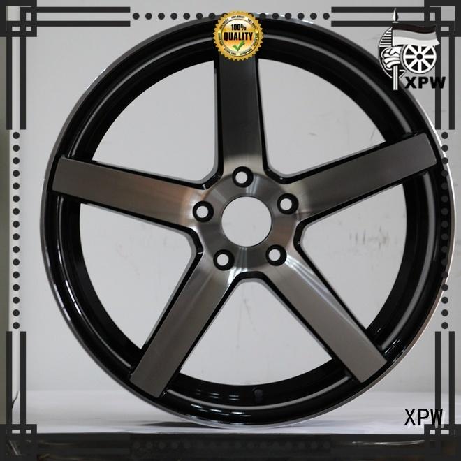 XPW custom custom black rims wholesale for vehicle