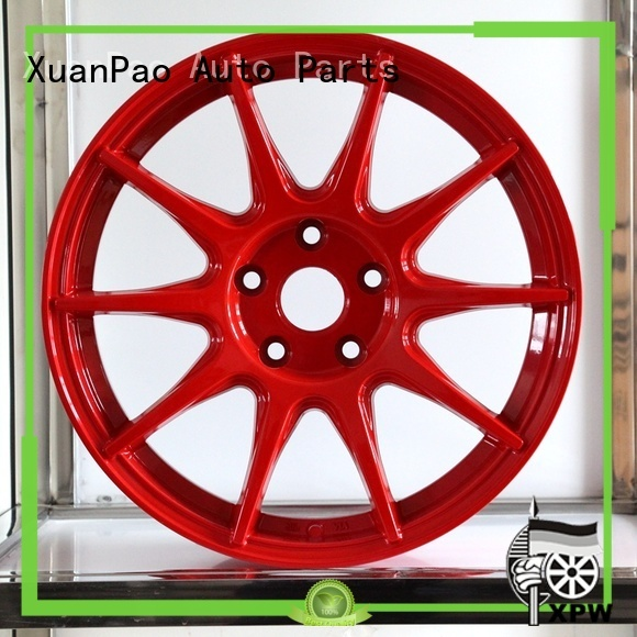 XPW matte black chrome wheels series for vehicle