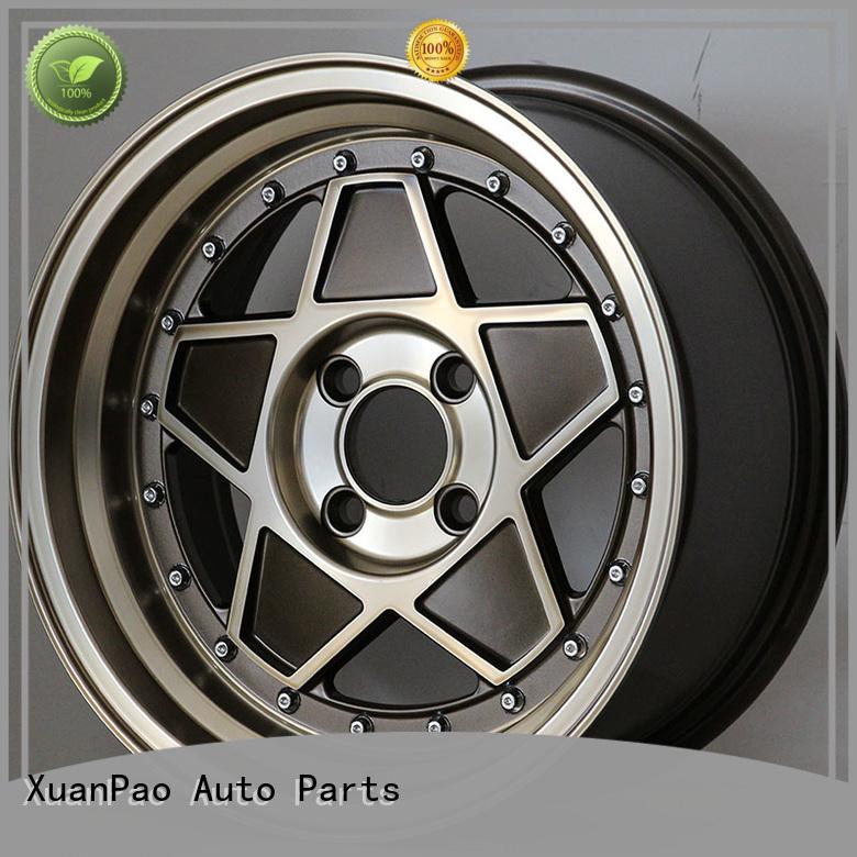 XPW aluminum 15 black rims wholesale for cars