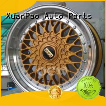 XPW professional black steel wheels 17 series for Toyota