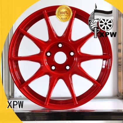 factory supply black and chrome truck rims aluminum wholesale for Toyota