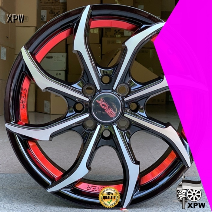 XPW novel design with beautiful shape 15 inch steel wheels manufacturing for Honda series