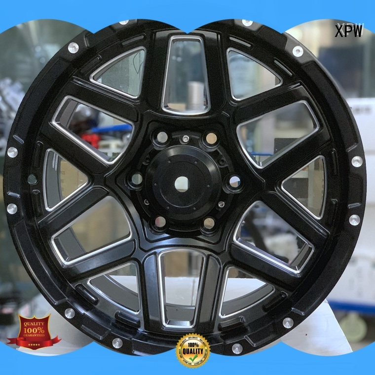 aluminum 17 inch chery rims manufacturing for Toyota XPW