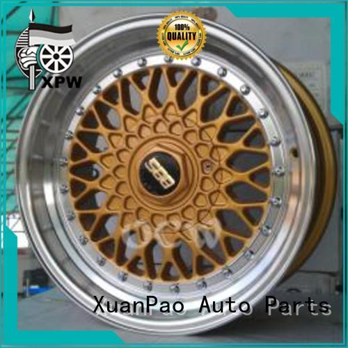 durable 16 inch wheels low-pressure casting OEM for vehicle