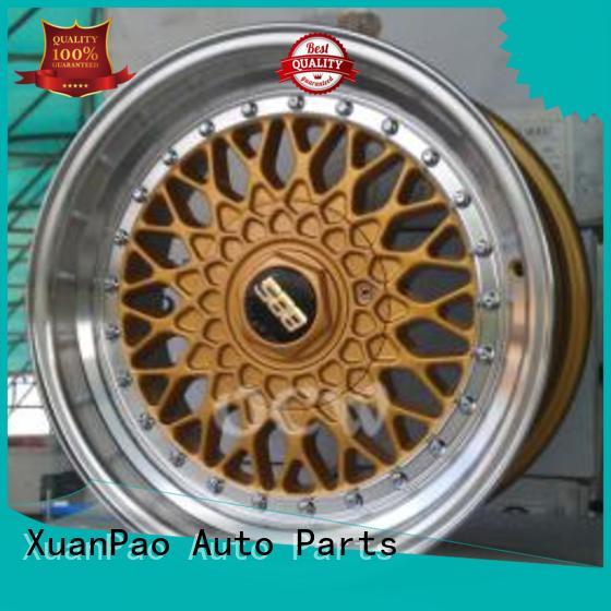 XPW matte black 17 inch black alloys manufacturing for cars