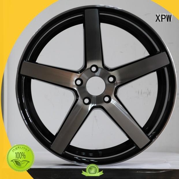 high quality custom wheels and tires black customized for Honda