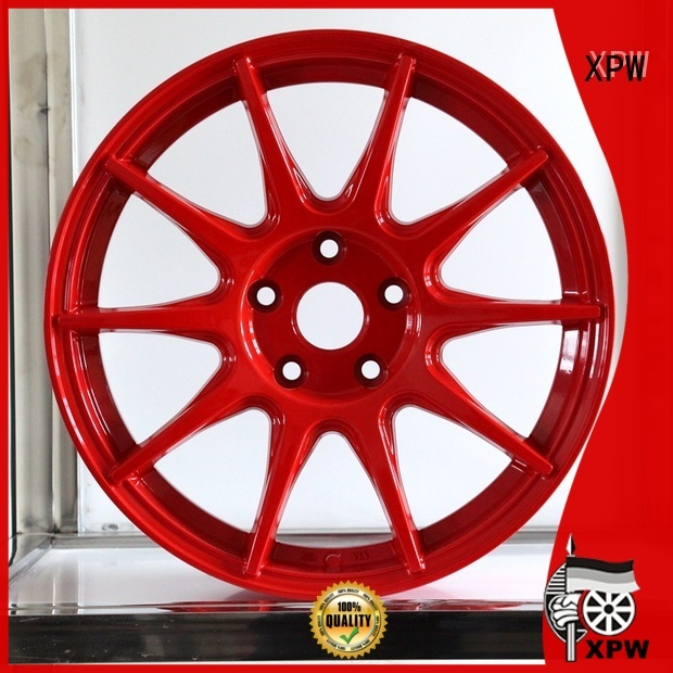 fashion custom black rims alloy series for Toyota