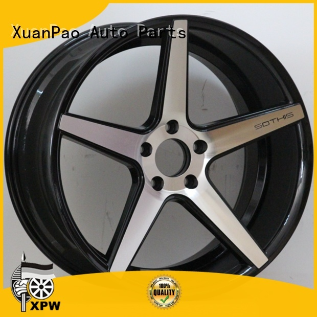 XPW custom black rims manufacturing for car