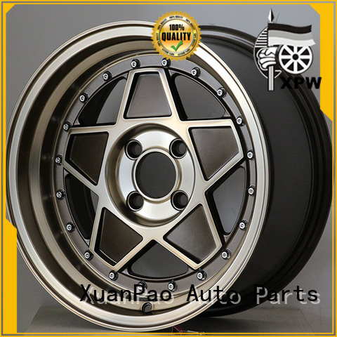 XPW professional 15 inch trailer wheels customized for Toyota