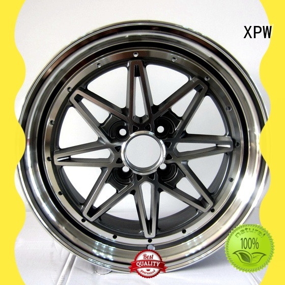 XPW cost-efficient 15 inch car rims design for cars