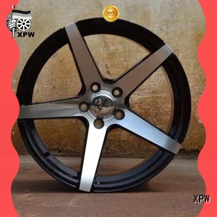 XPW durable 18 black wheels manufacturing for cars