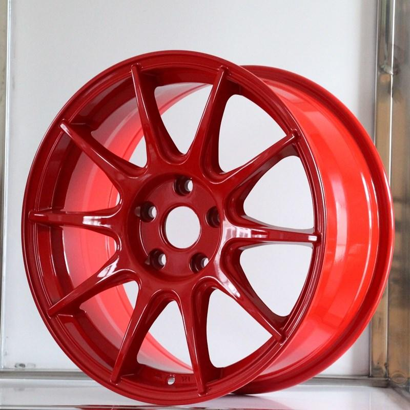 fashion custom black rims alloy series for Toyota-1