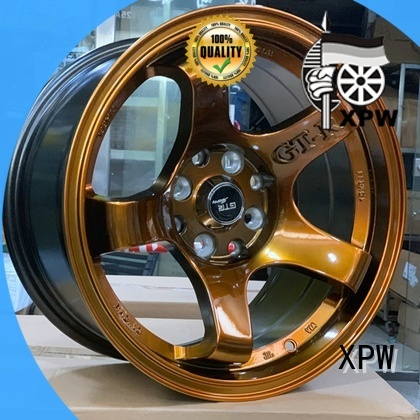 XPW cost-efficient 15 rims manufacturing for Toyota