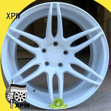 XPW silver 18 inch black rims OEM for vehicle