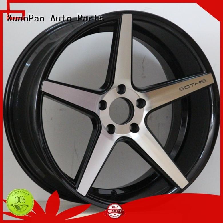 professional 20 inch gloss black rims manufacturing for turcks