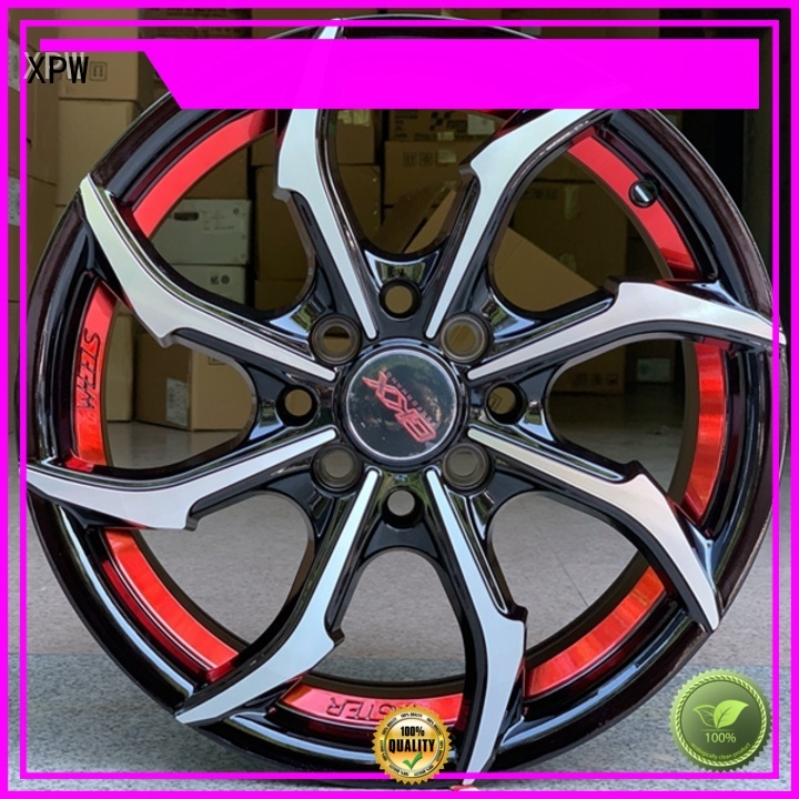 XPW cost-efficient 15 inch wheels design for Toyota