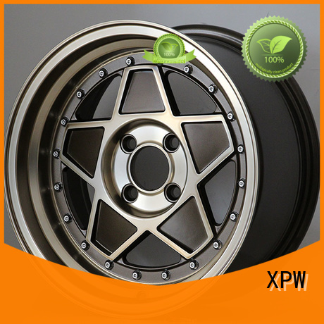 XPW long lasting 15 inch ford rims manufacturing for Honda series