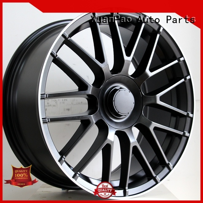 reliable black mercedes rims alloy customized for cars