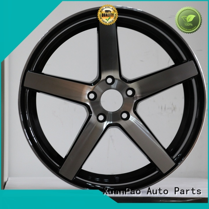 factory supply 17 inch steel rims 5 lug matte black OEM for vehicle