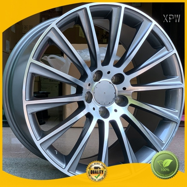 XPW aluminum mercedes benz rims manufacturing for Benz car series
