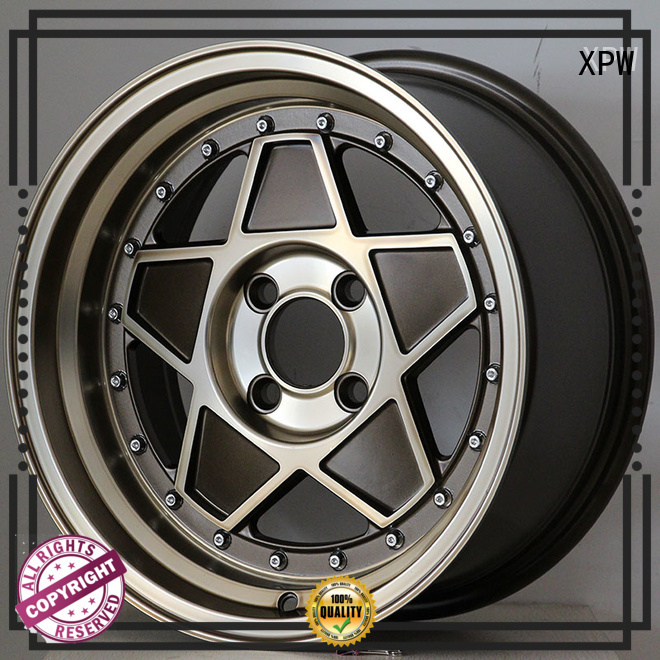 XPW power coating 15 inch chery rims design for cars