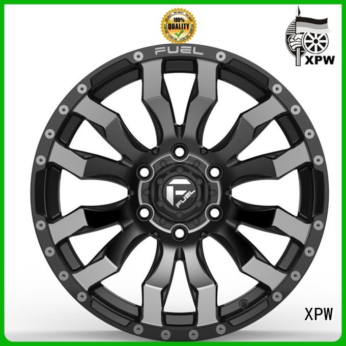 factory supply cheap aftermarket wheels aluminum wholesale for Toyota