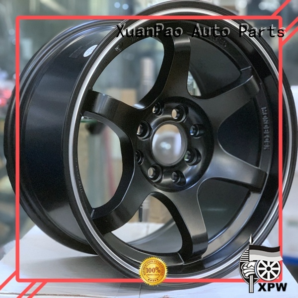 XPW fashion 15 inch alloy rims manufacturing for cars