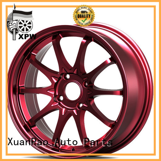 XPW alloy custom auto rims manufacturing for vehicle