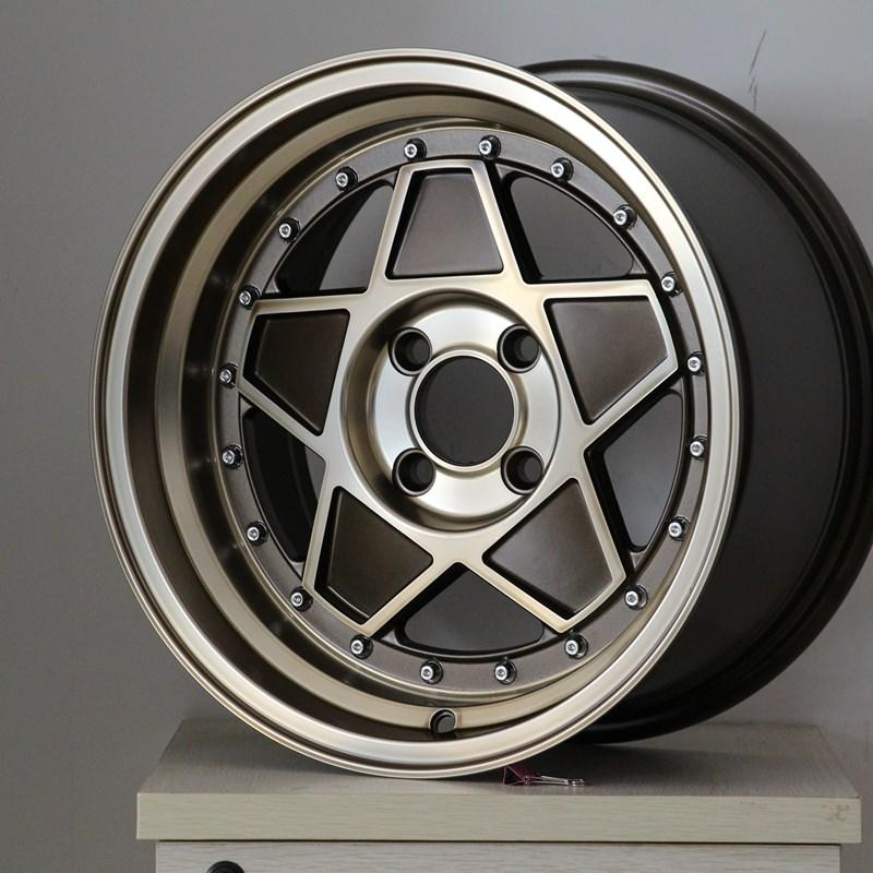 XPW black 15 inch off road wheels manufacturing for Honda series-3
