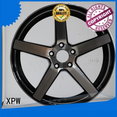 white 15 inch car rims design for vehicle XPW