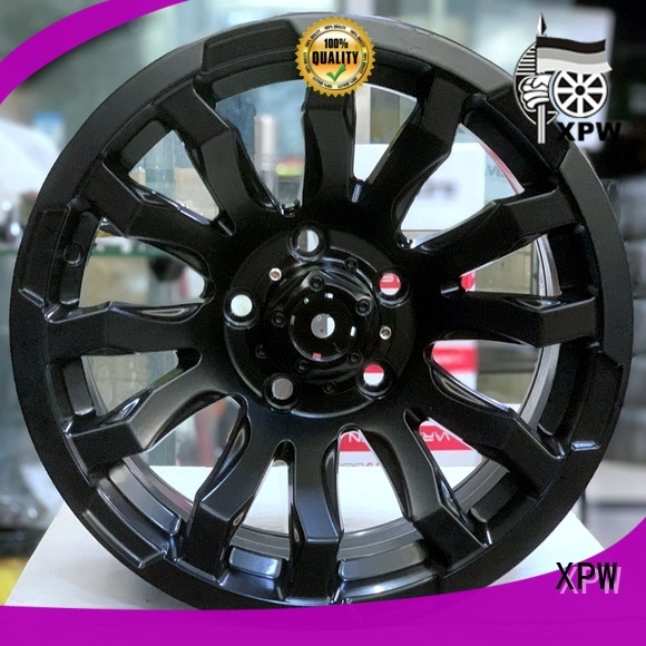 professional 15 black rims novel design with beautiful shape manufacturing for vehicle