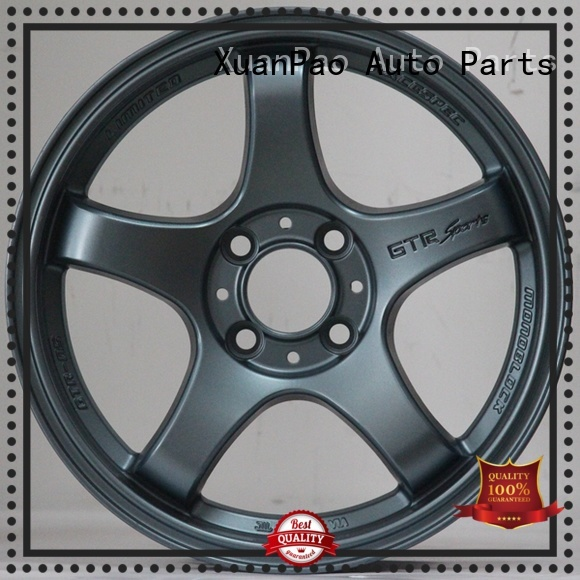XPW black 15x10 aluminum wheels manufacturing for cars